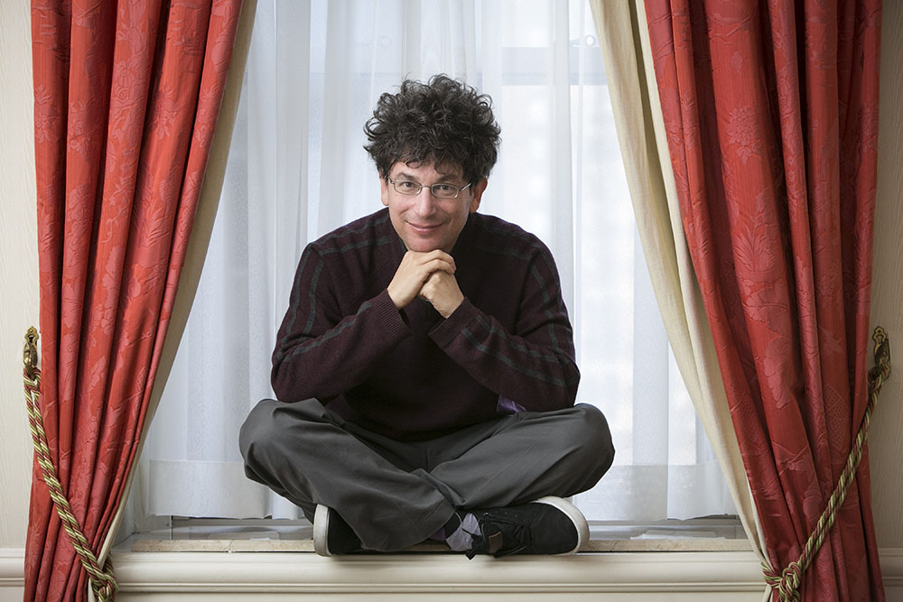 Mr. James Altucher in his hotel suite at the Waldorf Astoria Hotel in Midtown Manhattan, Thursday, Feb 21, 2013.