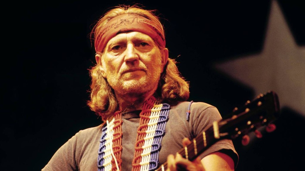 Willie Nelson, seen performing in the U.K. in 1980, is one of the featured artists in Oxford American's Southern Music issue about Texas